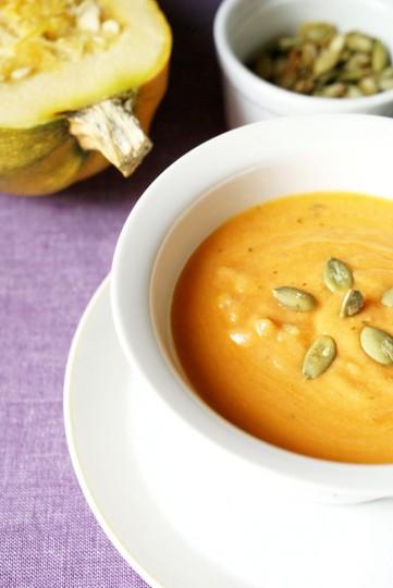 zupa z dyni z pomidorami