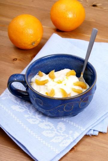 pomarańczowa kasza manna
