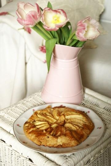 tarta rustykalna z jabłkami