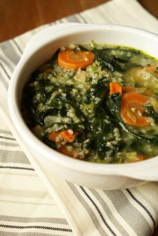 zupa ze spzinakiem po żydowsku