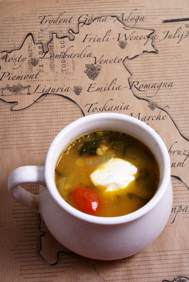 zupa z soczewicą