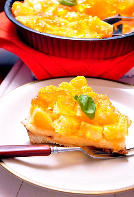 tarta z pomarańczą