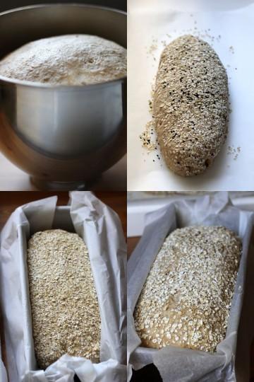 Organiczny chleb razowy