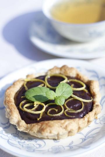 Tartaletki z czekoladowym kremem
