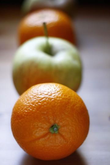 Kaczka z pomarańczami
