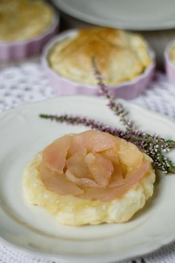 Mini tarta tatin z jabłkami