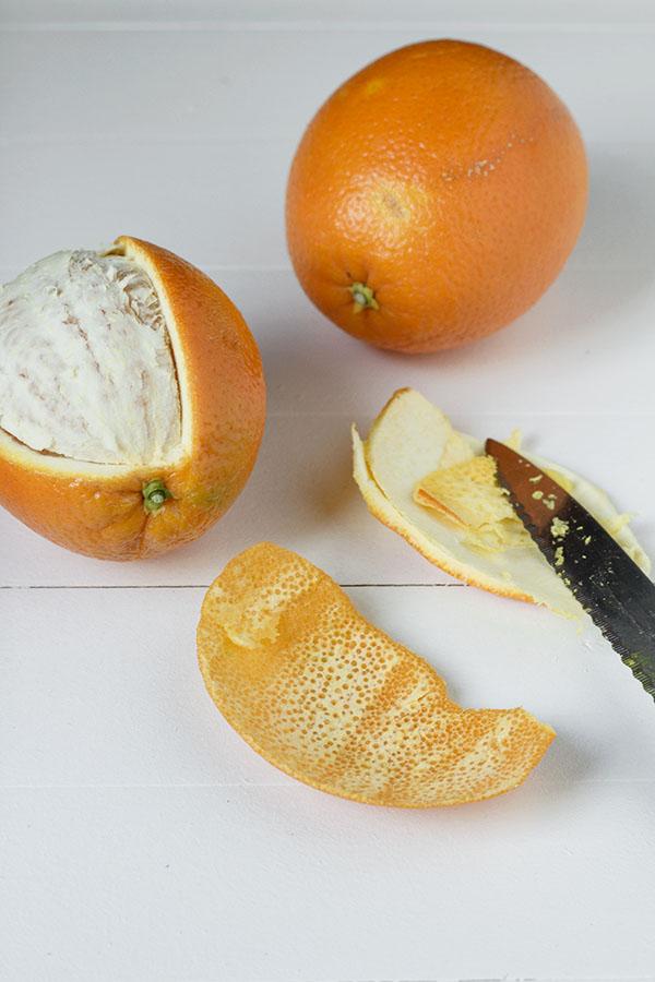 Skórka pomarańczowa w czekoladzie