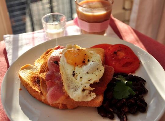 angielskie sniadanie