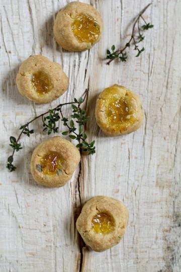 Maślane ciasteczka z macierzanką
