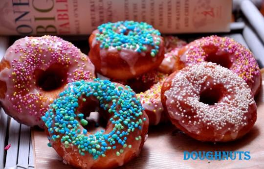 doughnuts amerykańskie pączki