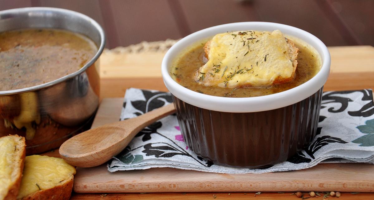 Francuska Zupa Cebulowa Kuchnia W Formie