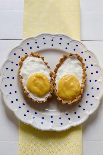 Tartaletki - kruche jajka z mascarpone i orange curd