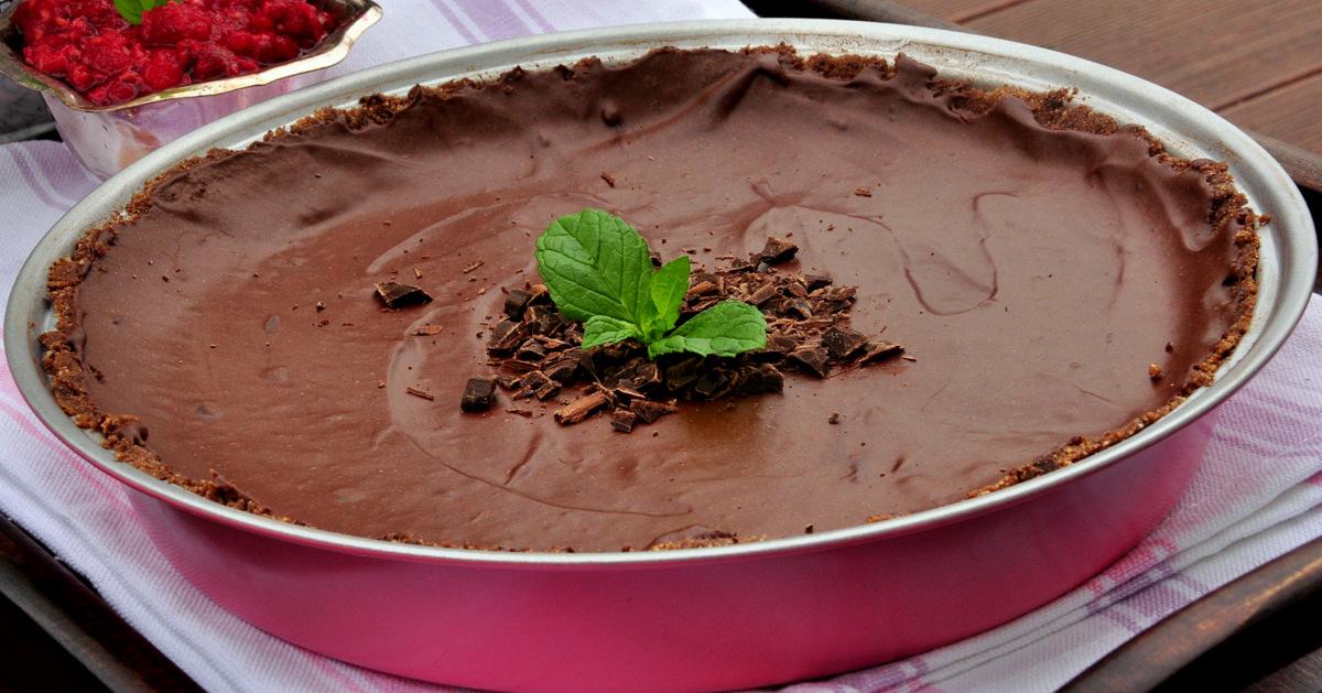 czekoladowa tarta