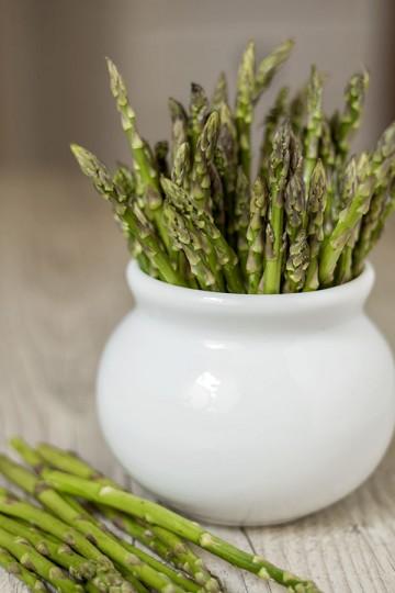 Zupa krem z zielonych szparagów z oliwą truflową
