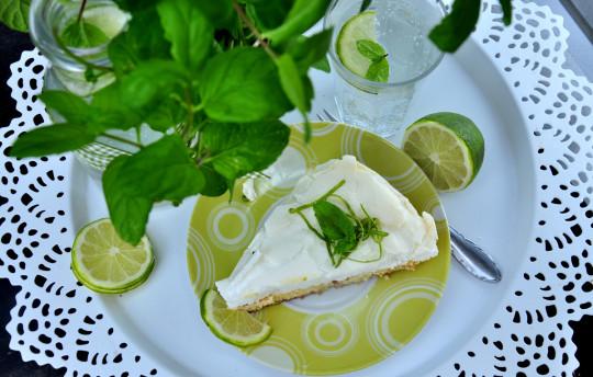tarta limonkowa z bezą