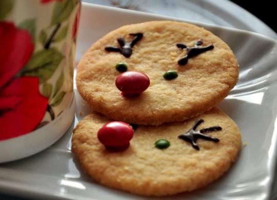 ciasteczka renifery
