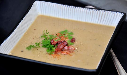 zupa z pora i ziemniaków