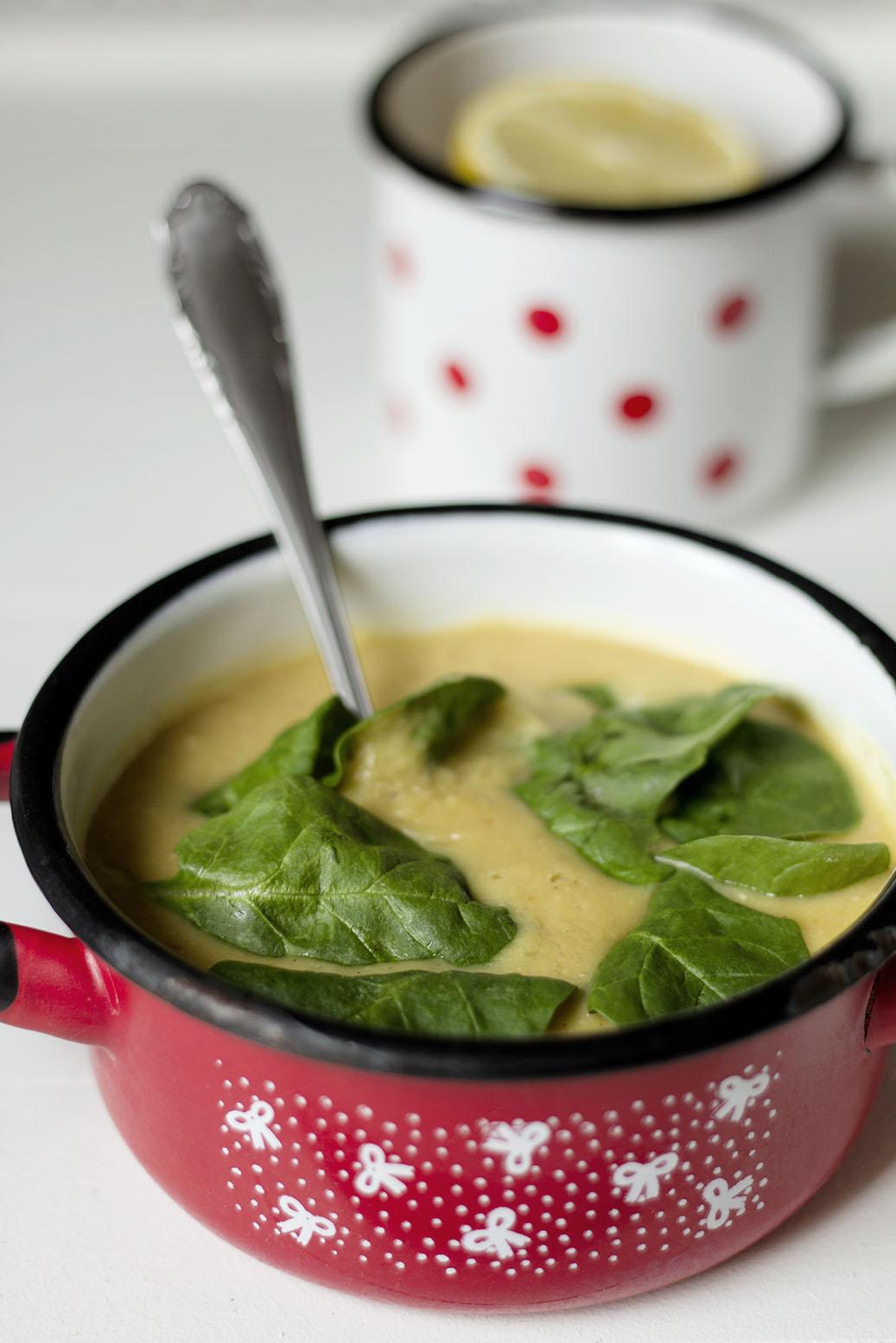 Cytrynowa zupa z soczewicą wg Sophie Dahl