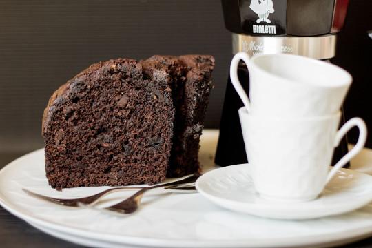 Wegańskie ciasto czekoladowe z burakami