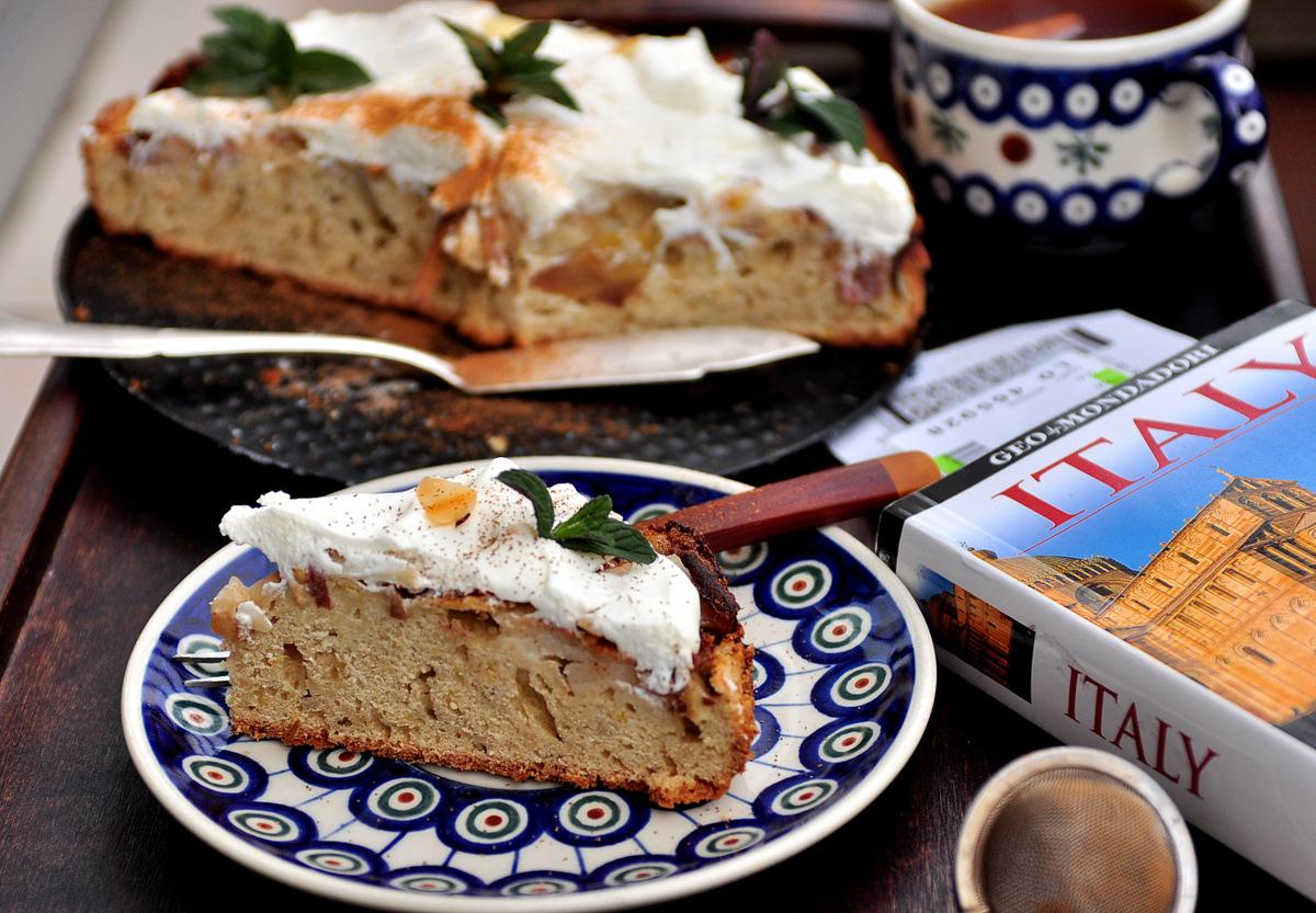 Włoskie Ciasto Z Jabłkami Kuchnia W Formie