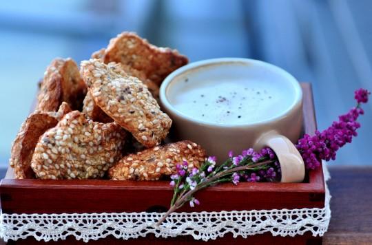 sezamowe ciasteczka bez mąki