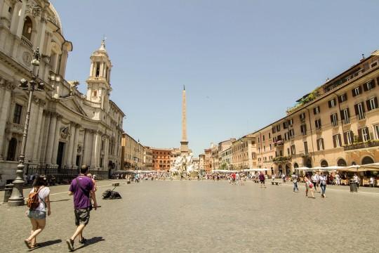 Piazza Navona, Plac Navona