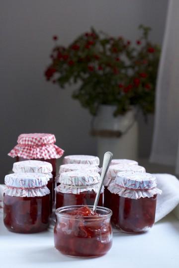 Konfitura z pigwy do herbaty