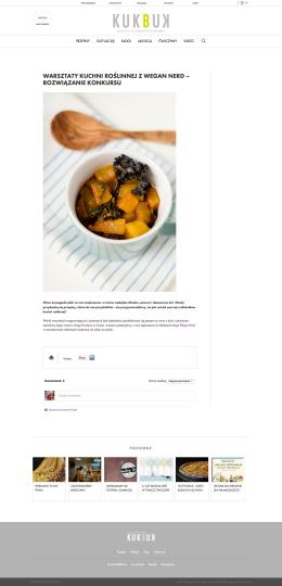 Wegańskie curry z dyni z kapustą chińską (pak choi) i jarmużem