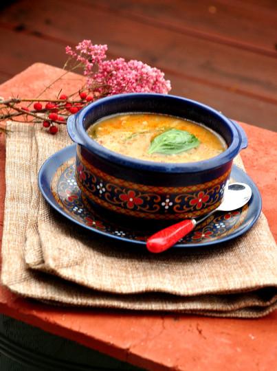zupa z soczewicy z wędzona papryką