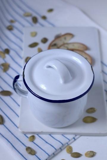 Zupa z dyni z gruszkami i rozmarynem