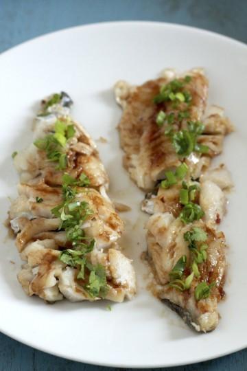 Ryba w glazurze z tamaryndowca