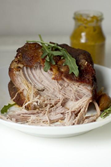 Łopatka wieprzowa wolno pieczona - pulled pork