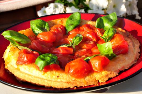 tarta tatin z pomidorami