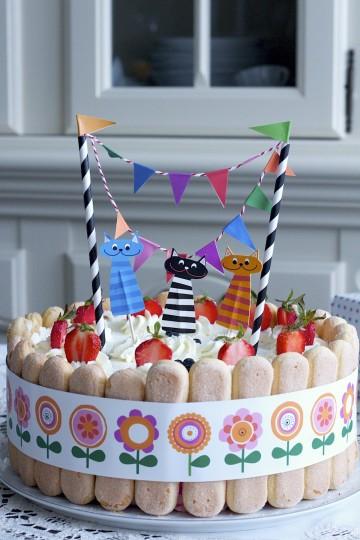 Tort truskawkowy - jak zrobić tort dla dziecka
