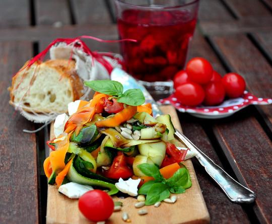 warzywne tagliatelle