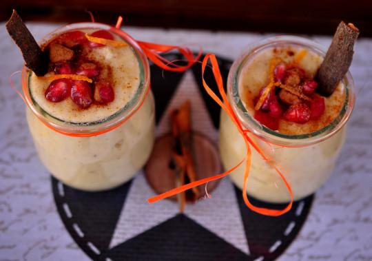 pomarańczowy pudding