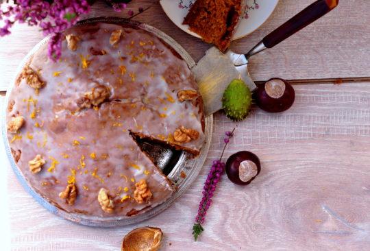 ciasto z dyni - gotujmy zdrowo