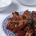 Pikantne skrzydełka z kurczaka z piekarnika