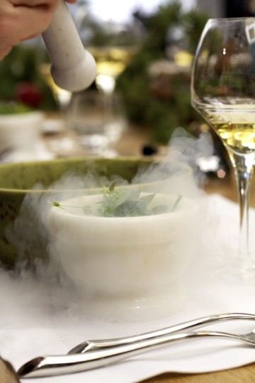 Water & Wine - Cisowianka - gotujmy zdrowo - mniej soli