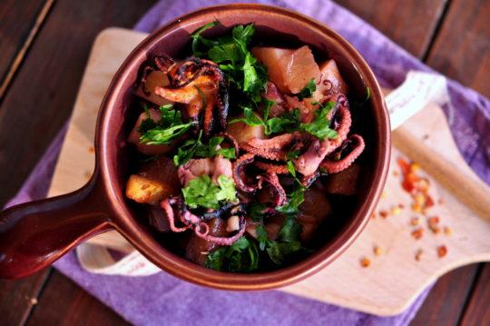 ośmiorniczki - Gotujmy zdrowo - mniej soli