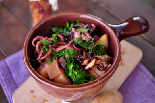 ośmiorniczki Gotujmy zdorow- mniej soli