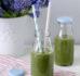 Zielony koktajl z pietruszki i kiwi bez dodatku cukru