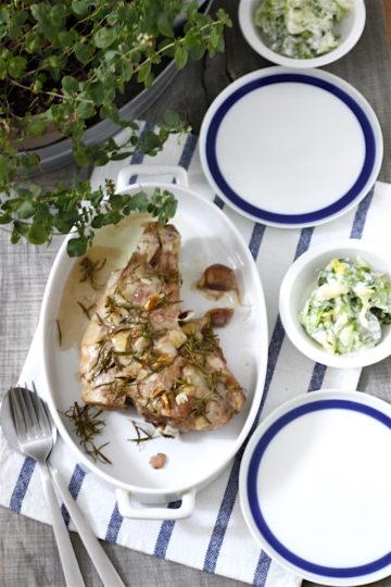 Udziec jagnięcy z rozmarynem i czosnkiem - Gotujmy Zdrowo