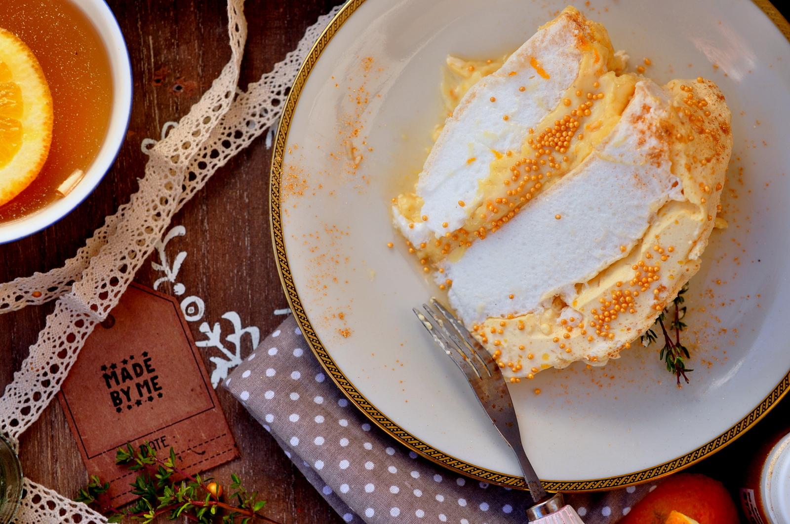Tort Bezowy Z Kremem Z Marakui I Pomarańczy Test Robota