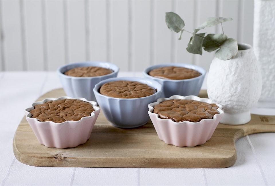 mini serniczki czekoladowe bezglutenowe
