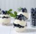 Cytrynowy deser z mascarpone i borówkami (bez glutenu i bez cukru)
