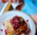 Placuszki z kaszy jaglanej i jabłek – śniadanie z resztek