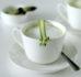 Cappuccino ze szparagów – jak wykorzystać końcówki i obierki ze szparagów