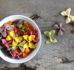 Makaron z pieczonymi warzywami