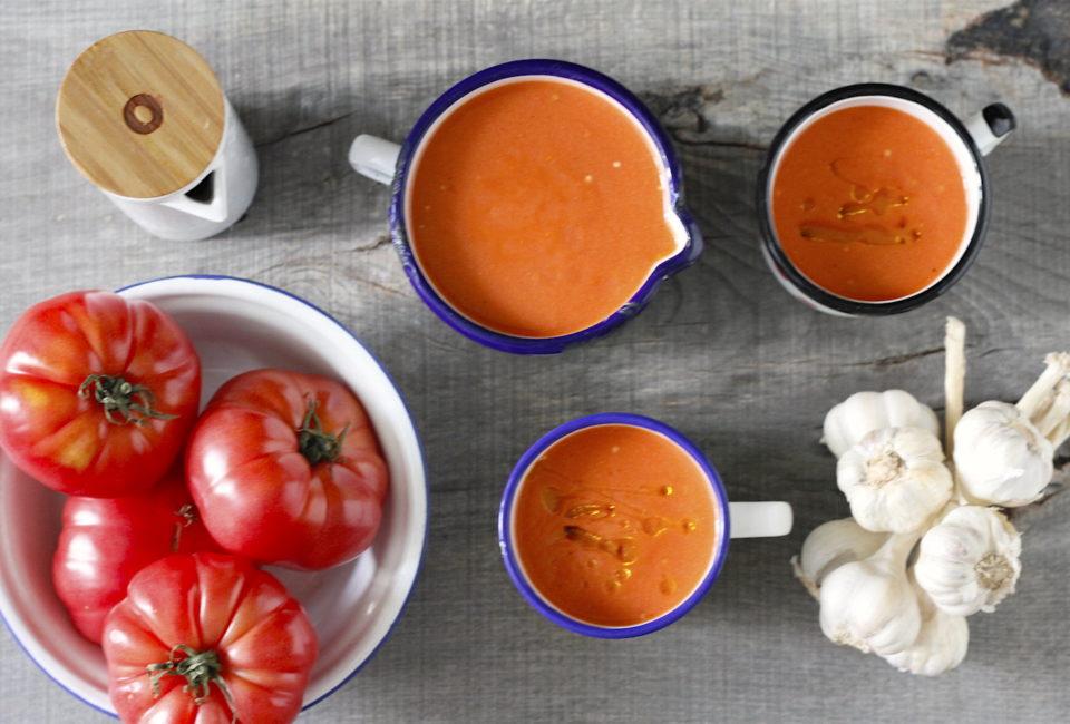 Gazpacho niezwykle kremowe - 3 sekrety idealnego gazpacho